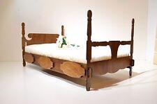 BED for Dolls 12 in Barbie FR Poppy OOAK 1/6 furniture Sofa NEW Diorama V3