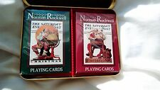 1996 Norman Rockwell The Saturday Evening Post Christmas Santa Playing Cards
