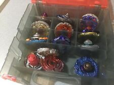 Beyblade  Lot WITH BEYBLADE METAL MASTERS CASE READ DETAILS