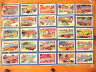 All 50 States POSTCARDS Art Board USPS Stamp 2002 Post Office - RaRe Teacher Aid