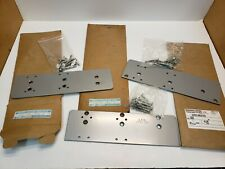 Lot of 3 LCN 4040 Super Smoothee 4040-18, 18G, 18TJ Drop Plate Aluminum Finish