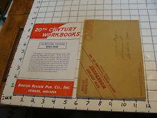 20th CENTURY WORKBOOKS ELEMENTARY CATALOG 1944-1945, BENTON REVIEW PUB. CO, INC.