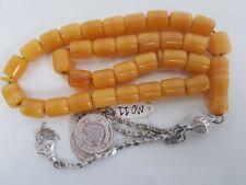 Old Bakelite Misky Worry Prayer Beads Tasbih Masbaha Rosary Antique Vintage MO11