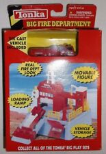 Tonka Big Fire Department Play Set No. 11112 Firetruck & House Diecast BRAND NEW