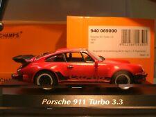 EXTREMELY RARE MAXICHAMPS 1/43 1979 PORSCHE 911 TURBO 3.3  FANTASTIC DETAIL NLA