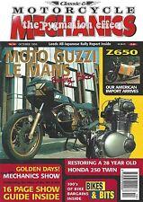 CMM Oct 1999 - Honda Dream CB400N Twin Norton 88SS Dominator Moto Guzzi Le Mans
