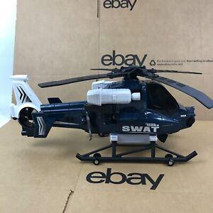 "Tonka Swat 401 Military Chopper HelicopterToy Decor 18.5"" Hasbro Vietnam 7.B2"