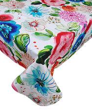 Tovaglia copritavola copri tavolo per 6 copri tavolo rettangolare fiori cotone