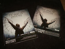 DA VINCI'S DEMONS 2 Emmy ads Tom Riley with wings, Laura Haddock, Blake Ritson