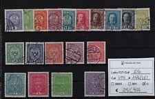 Impero Austro-Ungarico 1916 Effigie e corona serie completa Unificato 143/161