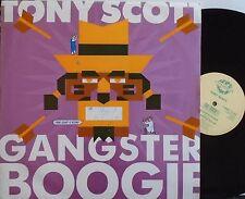 """TONY SCOTT ~ Gangster Boogie ~ 12"""" Single PS"""