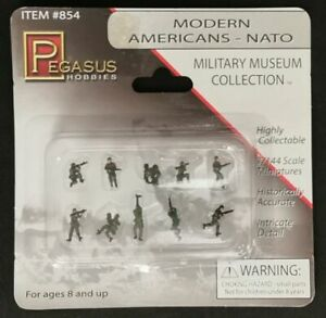 Pegasus Hobbies #854 Military Museum Collection Modern Americans Nato 1:144