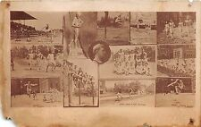C73/ Track and Field Sports Photo RPPC Postcard Roosters Team Records 13View 17