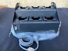 Yaesu Nc-33 6 Slot Automatic Radio Charger - Power on Tested &