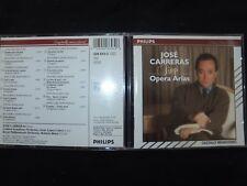 CD JOSE CARRERAS / SINGS OPERA ARIAS /