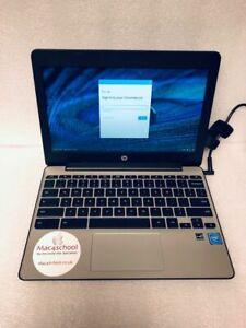HP Chromebook 11 G5 16GB SSD 4GB USB 3.0 HDMI WiFi Webcam Chrome OS