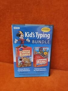 Kid's Typing Bundle: Mickeys Typing Adventure & Typing Instructor (PC, 2018)