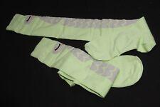 Casual Inspired Cute Ladies Green Owl Print Knee High Socks (S217)