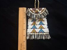 Strike A Lite Light bag Reproduction beaded with cones Mint Condition