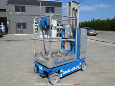 2012 Genie GR-20 20' Electric Vertical Mast Lift Personnel Man Aerial bidadoo