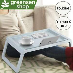 Folding Laptop Desk Bed Serving Table Stand Portable Sofa Breakfast Lap Tray