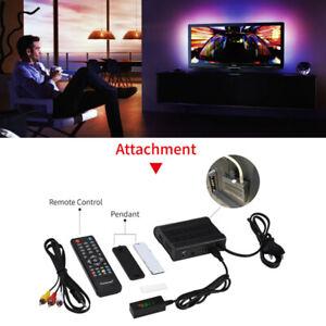 DVB-T2 HD 1080P Digital Decoder TV Receiver Set Top Box + Remote Controller