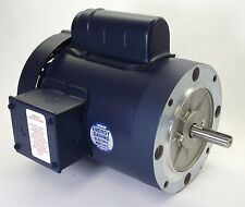 3/4HP 1725RPM 1PH 56C TEFC C-FACE NO BASE 115/230V LEESON ELECTRIC MOTOR #110057