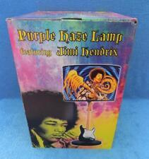 JIMMY JIMI HENDRIX Purple Haze Stratocaster Guitar Lamp in Box - New Very Rare