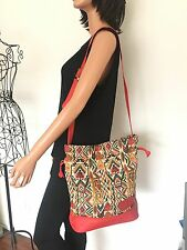 Mono Bag Multicolors Tapestry Designer Fashion Women Messenger