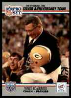 1990 ProSet Buick #1 Vince Lombardi SUPER RARE MINT Green Bay Packers COACH