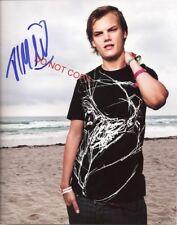 "DJ Avicii Tim Bergling 11x14"" Reprint Signed Autographed Poster #2 RP EDM"