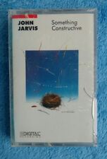 NEW SEALED JOHN JARVIS Something Constructive Cassette Tape Smooth Jazz Keyboard