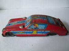 Rally car tin plate toy.Friction tin plate car.