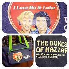 1982 WARNER BROA DUKES OF HAZZARD SCHOOL HOLDER BAG/PURSE