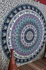Mandala Indio Elefante Tapiz REINA Hippie Tapices Dormitorio Boho tapices