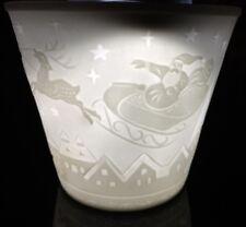 Windlichter Starlight Porzellan Teelichthalter Teelicht Windlicht, Nikolaus # 33