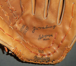 Jim Maloney Vintage 60s MacGregor 650 RH Baseball Glove Mitt Cincinnati Reds
