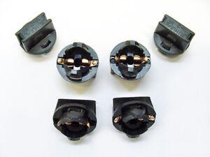 6 Dodge 194NA Instrument Panel Cluster Light Bulb Lamp Dashboard Socket Plug NOS
