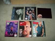 5 VTG WWE RAW MAGS/SPECIALS Undertaker STONE COLD STEVE AUSTIN Brett Hart