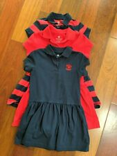 Short Sleeve Primrose Polo Dress Dennis Uniforms