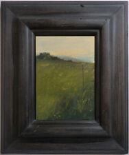 Original ROBERT VALDES signed OIL PAINTING framed landscape on panel XLNT no rsv