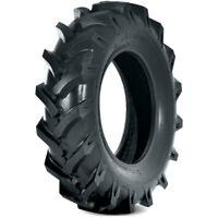 2 New Deestone D402 7.5-16 Load 8 Ply (TT) Tractor Tires