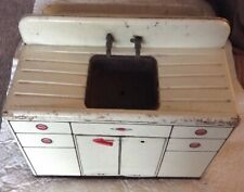 Vintage 1950 Tin Kitchen Toy Sink