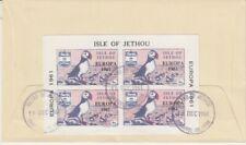 Europa CEPT 1961  Isle of Jethou  Block  FDC