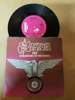 "Saxon-747 Strangers In The Night- Vinyl,7"",45 RPM,Single-Sammlung Metal UK-1980"