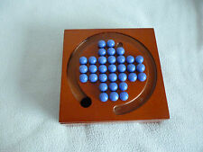 Wooden 2 players Solitaire Board & Traditional Games