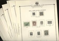 NEWFOUNDLAND, Assortment of Stamps hinged on Minkus Specialty pages