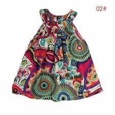 Toddler Kids Baby Girls Summer Casual Dress Party Pageant Princess Tutu Dresses