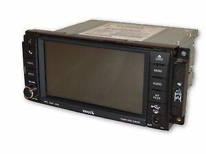 Jeep Chrysler Dodge RHB Navigation Display GPS MyGIG Radio Low CD MP3 DVD OEM
