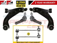 FOR FORD MONDEO MK3 FRONT WISHBONE CONTROL ARMS TRACK ROD ENDS HEAVY DUTY LINKS